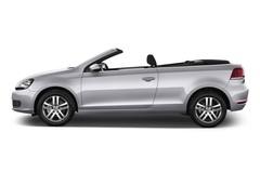 VW Golf - Cabrio (2011 - 2016) 2 Türen Seitenansicht