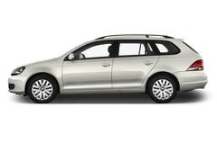 VW Golf Trendline Kombi (2009 - 2013) 5 Türen Seitenansicht