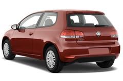 VW Golf Trendline Kompaktklasse (2008 - 2012) 3 Türen seitlich hinten
