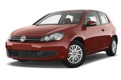 VW Golf Trendline Kompaktklasse (2008 - 2012) 3 Türen seitlich vorne mit Felge