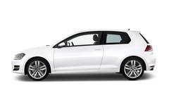 VW Golf Highline Kompaktklasse (2012 - heute) 3 Türen Seitenansicht