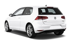 VW Golf Highline Kompaktklasse (2012 - heute) 3 Türen seitlich hinten