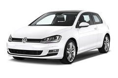 VW Golf Highline Kompaktklasse (2012 - heute) 3 Türen seitlich vorne