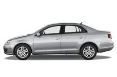 VW Jetta Comfortline Kompaktklasse (2005 - 2010) 4 Türen Seitenansicht