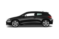 VW Scirocco R Coupé (2008 - heute) 3 Türen Seitenansicht