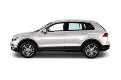 VW Tiguan Comfortline SUV (2015 - heute) 5 Türen Seitenansicht