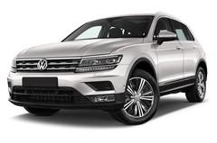 VW Tiguan Comfortline SUV (2015 - heute) 5 Türen seitlich vorne mit Felge