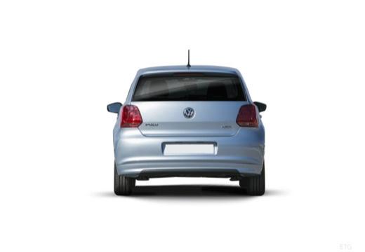 VW Polo 1.4 TSI ACT (2014-2017) Heck