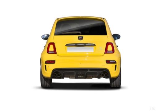 Fiat 595 (2016-2016) Heck