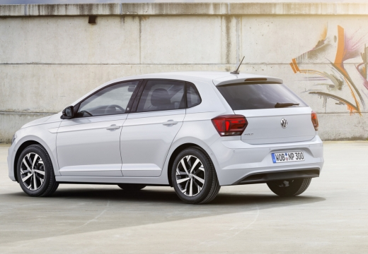 VW Polo 1.0 (seit 2017) Heck + links