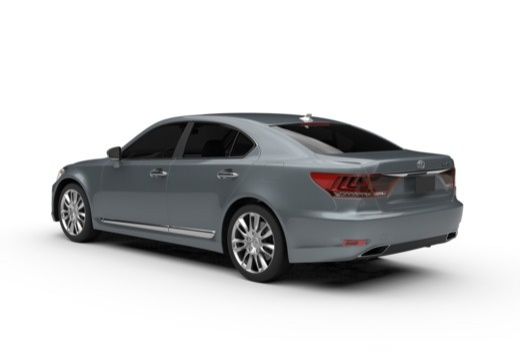 Lexus LS 460 AWD (seit 2012) Heck + links