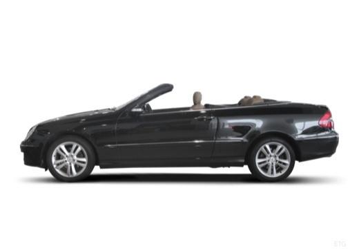 Mercedes-Benz CLK Cabrio 500 7G-TRONIC (2006-2009) Seite links