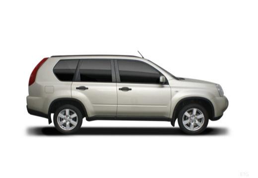 Nissan X-Trail 2.5 4x4 CVT-Automatik (2007-2009) Seite rechts