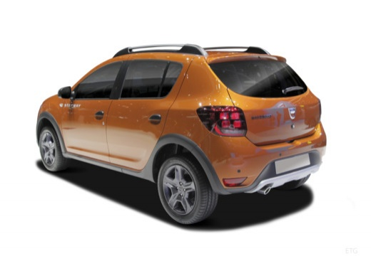 Dacia Sandero Stepway TCe 90 S&S (2017-2017) Heck + links