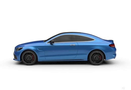 Mercedes-Benz AMG C 43 Coupe 4Matic 9G-TRONIC (2017-2017) Seite links