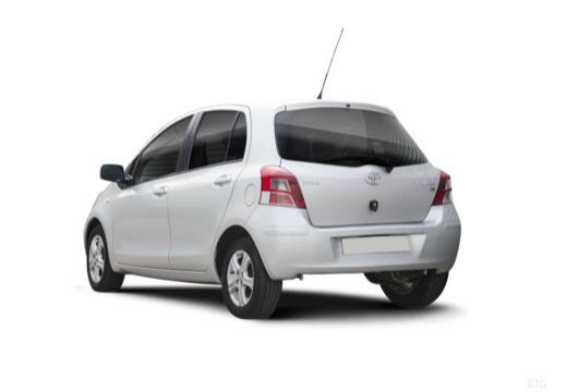 Toyota Yaris 1.33 VVT-i Multi Mode (2010-2010) Heck + links