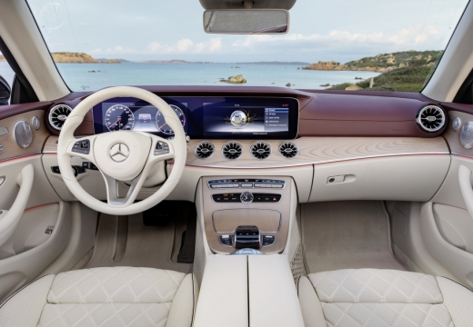 Mercedes-Benz E 300 Cabrio 9G-TRONIC (seit 2017) Armaturenbrett