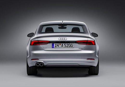 Audi A5 Coupe 2.0 TFSI S tronic (2016-2017) Heck