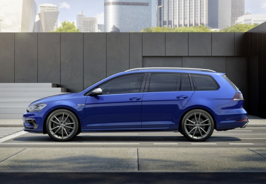 VW Golf Variant R 4Motion BlueMotion Technology DSG (2017-2017) Seite links