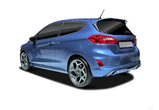 Ford Fiesta 1.1 (seit 2017) Heck + links