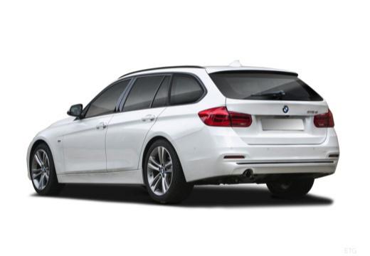 BMW 325d Touring (seit 2016) Heck + links