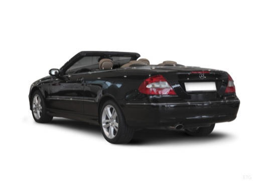Mercedes-Benz CLK Cabrio 200 Kompressor (2006-2009) Heck + links