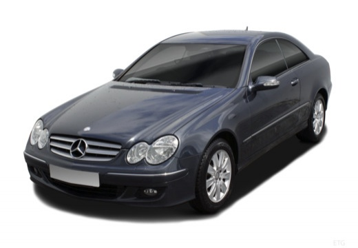 Mercedes-Benz CLK Coupe 200 Kompressor (2006-2009) Front + links