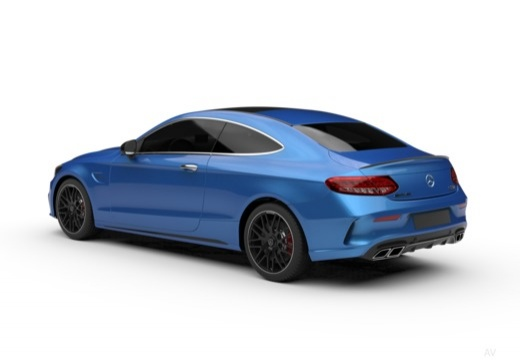 Mercedes-Benz AMG C 43 Coupe 4Matic 9G-TRONIC (2017-2017) Heck + links