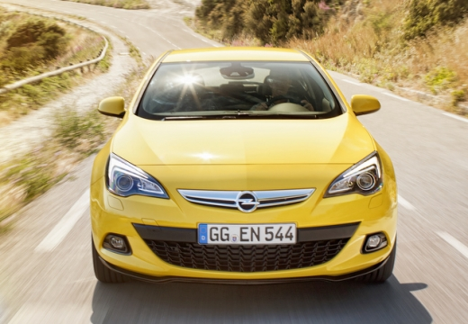 Opel Astra GTC 1.4 Turbo (2016-2016) Front