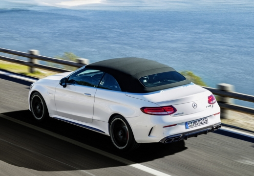 Mercedes-Benz AMG C 43 Cabrio 4Matic 9G-TRONIC (2016-2016) Heck + links