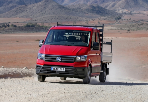 VW Crafter 35 TDI (2016-2016) Front