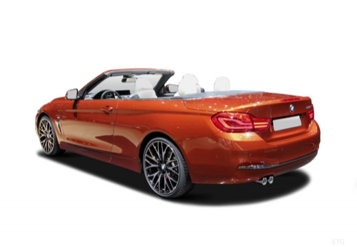 BMW 430i Cabrio (seit 2017) Heck + links