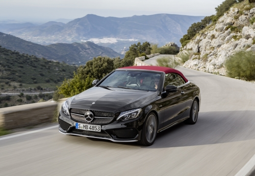 Mercedes-Benz AMG C 43 Cabrio 4Matic 9G-TRONIC (2016-2016) Front + links