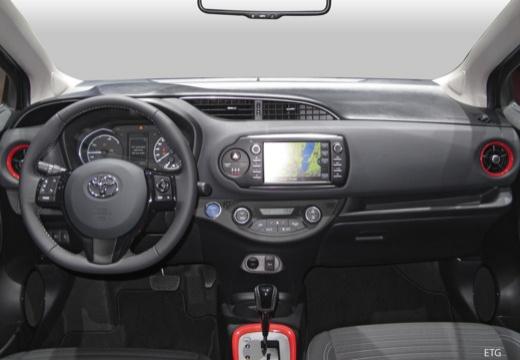 Toyota Yaris Hybrid 1.5 VVT-i (seit 2017) Armaturenbrett