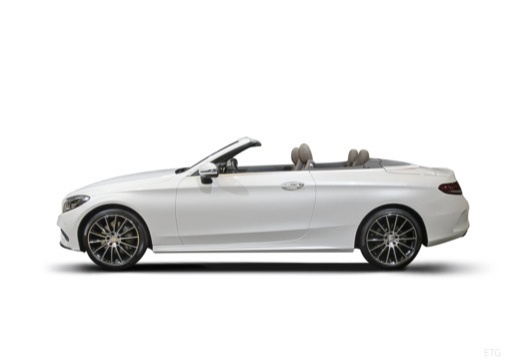 Mercedes-Benz AMG C 43 Cabrio 4Matic 9G-TRONIC (2017-2017) Seite links