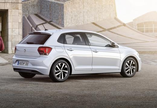 VW Polo 1.0 (seit 2017) Heck + rechts