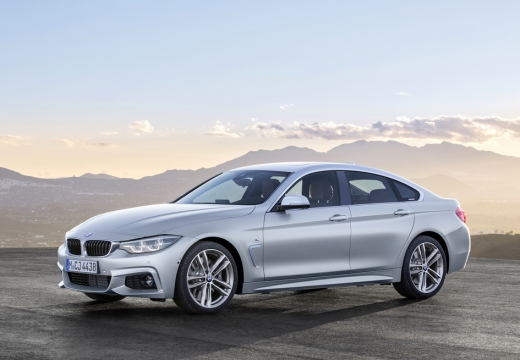 BMW 430i Gran Coupe (seit 2016) Front + links
