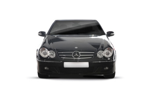 Mercedes-Benz CLK Cabrio 500 7G-TRONIC (2006-2009) Front