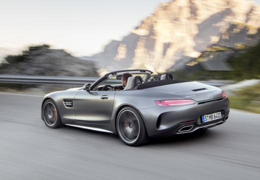 Mercedes-Benz AMG GT C Roadster AMG Speedshift 7G-DCT (2016-2016) Heck + links