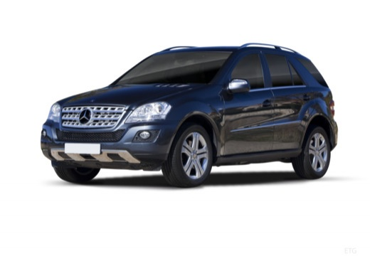 Mercedes-Benz ML 500 4Matic 7G-TRONIC (2010-2011) Front + links