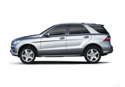 Mercedes-Benz ML 500 4MATIC BlueEFFICIENCY 7G-TRONIC (2012-2015) Seite links