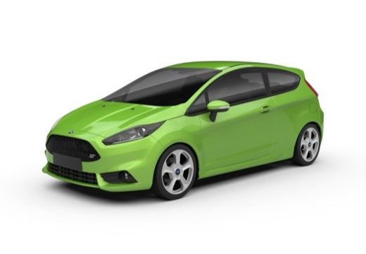 Ford Fiesta 1.6 EcoBoost (2016-2016) Front + links