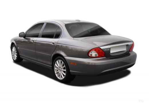 Jaguar X-Type 2.2 Diesel Aut. (2008-2009) Heck + links