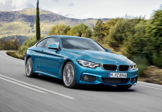 BMW 430i Gran Coupe (seit 2016) Front + rechts