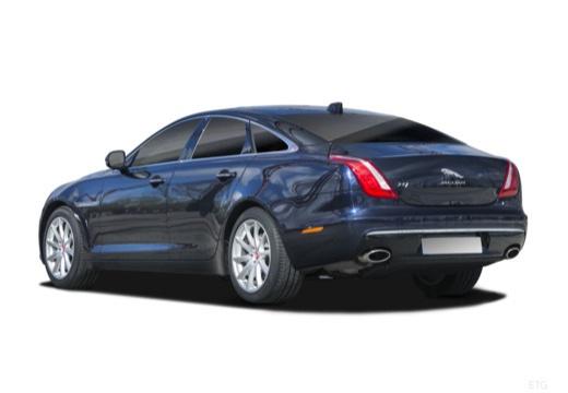 Jaguar XJ 3.0 V6 Kompressor AWD (seit 2015) Heck + links