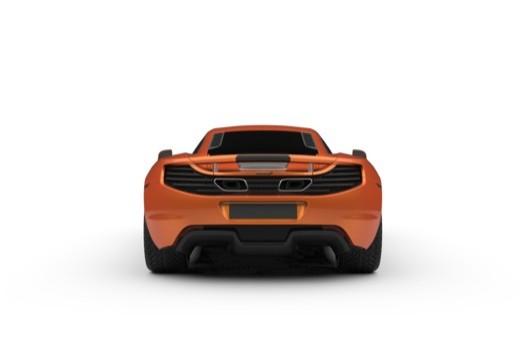 McLaren 650S Coupe (2014-2014) Heck