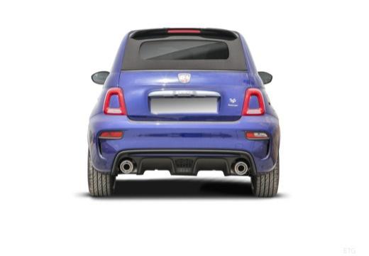 Fiat 595 C (2016-2016) Heck