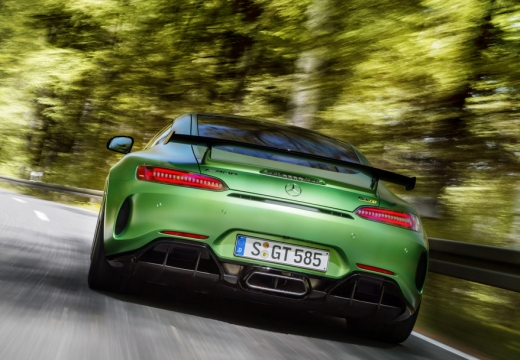 Mercedes-Benz AMG GT R Coupe AMG Speedshift 7G-DCT (2016-2016) Heck