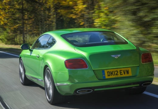 Bentley Continental GT Speed Convertible (2016-2016) Heck + links