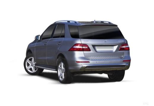 Mercedes-Benz ML 500 4MATIC BlueEFFICIENCY 7G-TRONIC (2012-2015) Heck + links